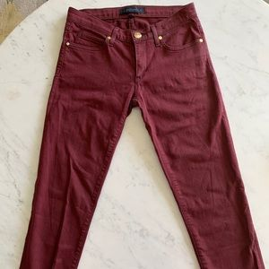 Juicy Couture Maroon Jeans